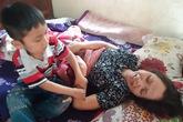 Mẹ đơn thân nằm liệt, đau xót trước nguy cơ con nhỏ thất học