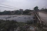 """Tiếp bài """"Bắc Ninh: Về nơi suốt 10 năm màn đen sì, nước đổi màu"""" Dự án xử lý chất thải có nguy cơ """"đắp chiếu"""""""