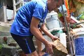 Quảng Ninh: Người dân phát hoảng khi đá rơi thủng nhà