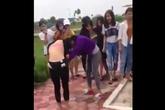 Xôn xao nữ sinh cấp 3 ở Hải Dương đánh nhau dã man