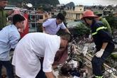 Quảng Ninh: Một thợ xây bị điện giật bỏng toàn thân