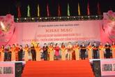 Quảng Ninh: Khai mạc hội chợ tại công trình nghìn tỷ