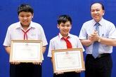 Hai học sinh mưu trí bắt trộm nhận bằng khen của Bộ Giáo dục