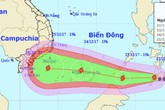 Thời tiết 23/12: Bão Tembin mạnh lên, biển Đông hứng bão kỷ lục