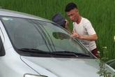 Xe ô tô của Hiệp Gà gặp nạn khi trên đường về Quảng Ninh
