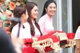 Dàn phù dâu của Hoa hậu Thu Thảo chỉ có Hoa hậu Ngọc Hân là người nổi tiếng