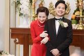 Chồng đại gia của Hoa hậu Thu Thảo xúc động ôm mẹ vợ cảm ơn