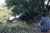 Hải Dương: Bị tàu hỏa đâm, tài xế xe tải tử vong trong ca bin