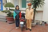 Hà Nội: Nhận lại xe máy sau 2 năm bị mất cắp