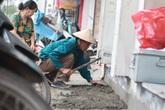 Hà Nội: Người dân ở Xã Đàn bắt đầu xây tam cấp lùi vào trong nhà