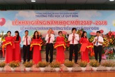Khánh thành Trường tiểu học Lê Quý Đôn – Hà Đông