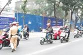Sẽ xử nghiêm người cố tình lấn làn riêng của buýt BRT khi đường thông thoáng