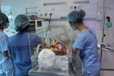 2 bệnh nhi chuyển từ Sản nhi Bắc Ninh lên BV Nhi TƯ tiên lượng nặng