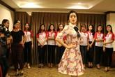 Hoa Khôi sinh viên 2017: Á hậu Huyền My hướng dẫn các thí sinh đi catwalk