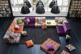 Phòng khách sẽ rất ấn tượng với kiểu ghế sofa vừa đẹp vừa sáng tạo này