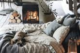 11 mẫu chăn ga gối bằng vải linen mềm mại và ấm áp nên có trong phòng ngủ vào mùa thu đông