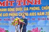 Toàn xã hội cùng chung tay, đẩy lùi dịch HIV/AIDS