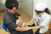 """Từ tháng 11, gần 700.000 trẻ ở Hà Nội -""""điểm nóng"""" bệnh sởi được tiêm bổ sung vaccine"""