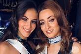 Hoa hậu Iraq và gia đình chạy trốn vì 'selfie' cùng người đẹp Israel