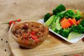 Cách làm kho quẹt tóp mỡ tôm khô chấm rau củ luộc siêu đưa cơm