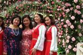 Bị chê hoa giả, bán vé lộn xộn, Lễ hội hoa hồng vẫn có nhiều hình ảnh hút mắt