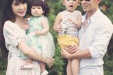 Gia đình Lý Hải - Minh Hà khoe con làm siêu nhân