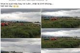 Xử lý người tung tin máy bay rơi vì mưa ở sân bay Nội Bài