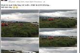 Một phụ nữ tung tin đồn máy bay rơi ở Nội Bài để câu like