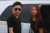Phan Mạnh Quỳnh và bạn gái mặc đồ đôi đến tập ZMA