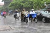 Cảnh báo mưa lớn ở Hà Nội và nhiều vùng thuộc Bắc Bộ
