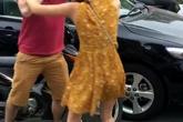 Nam thanh niên ngoại quốc bị đánh chảy máu mũi trên phố Hà Nội
