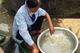 Dự án nước sạch 90 tỷ ở Hà Nam: Bắt quả tang nhà máy nước sạch Đồng Du xả thải ra môi trường