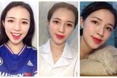 """Nữ sinh ngành Dược xinh đẹp """"mê"""" bóng đá"""