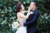 Chồng đại gia của Vy Oanh lần đầu lộ diện đúng dịp Valentine sau bao năm giấu mặt