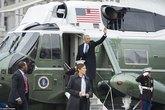 Cay mắt hình ảnh gây thương nhớ cuối cùng của ông Obama tại Nhà Trắng