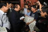 Thủ tướng kiểm tra công tác khắc phục hậu quả bão số 12