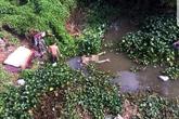Phát hiện thi thể người đàn ông nổi trên mặt nước trong tư thế khỏa thân