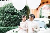 Hình ảnh hiếm hoi của chị chồng Hà Tăng bên ông xã điển trai