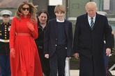 Vợ Tổng thống Trump chọn trường mới ở Washington cho con trai