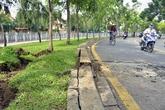 2 hố ga phát nổ, rung chuyển mặt đường Sài Gòn