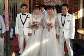 Những đám cưới hi hữu khiến mọi thứ đình đám, xa hoa phải chạy dài