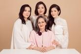 Lý Nhã Kỳ khoe mẹ cùng hai chị gái và kể về những ngày khốn khó