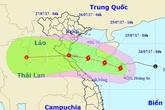 Bão mạnh cấp 8 hướng vào từ Thanh Hóa đến Quảng Bình