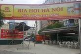 Phường Yên Hòa (Cầu Giấy, Hà Nội): Bãi xe, quán nhậu mọc la liệt trên đất dự án