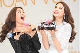 Phạm Hương bí mật chúc mừng sinh nhật á hậu Lệ Hằng