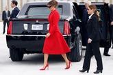 Nữ mật vụ Mỹ có ngoại hình giống hệt Đệ nhất Phu nhân Melania gây tranh cãi