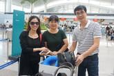 Bố mẹ sang Trung Quốc cổ vũ Mỹ Linh thi chung kết Miss World
