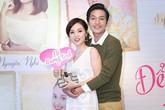 Quang Tuấn ôm hôn vợ xinh đẹp trong sự kiện