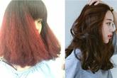 """Tốn gần 2 triệu làm tóc xoăn """"ăn Tết"""", cô gái đau đớn nhận được quả đầu xù như... râu ngô"""