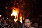 Hà Hồ tháo chạy khỏi đám cháy khi dự ra mắt 'Kong Skull Island'